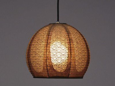 Lampe FORES Pendant caramel 30x27 TP-1052