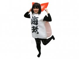 Cosplay Sushi crevette
